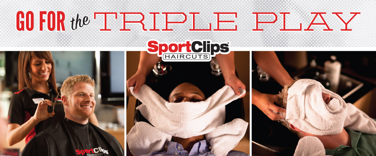 The Sport Clips Haircuts of Cinco Ranch Triple Play
